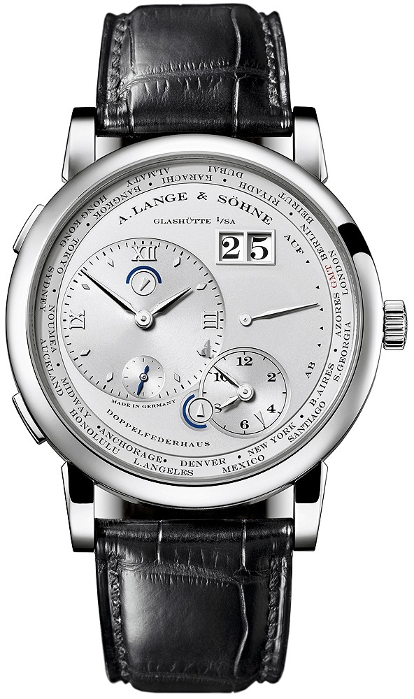A. Lange & Sohne Lange 1 Time Zone Mens 116.025 imitation