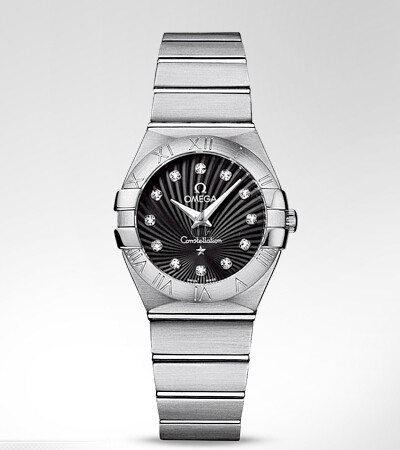 Omega Constellation Stainless Steel Ladies  watch replica 123.10.27.60.51.001