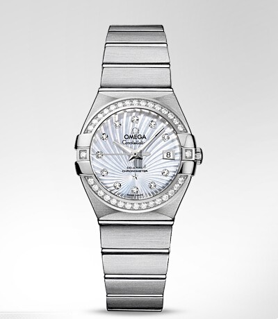 Omega Constellation Ladies  watch replica 123.15.27.20.55.001