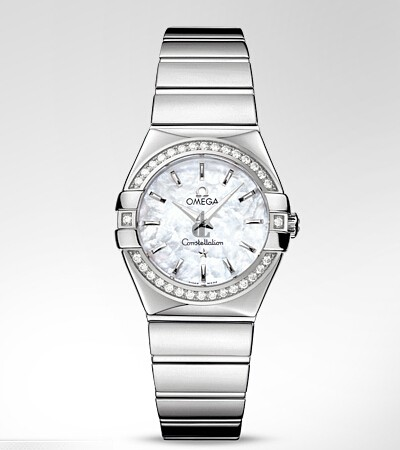 Omega Constellation Diamond Ladies  watch replica 123.15.27.60.05.002