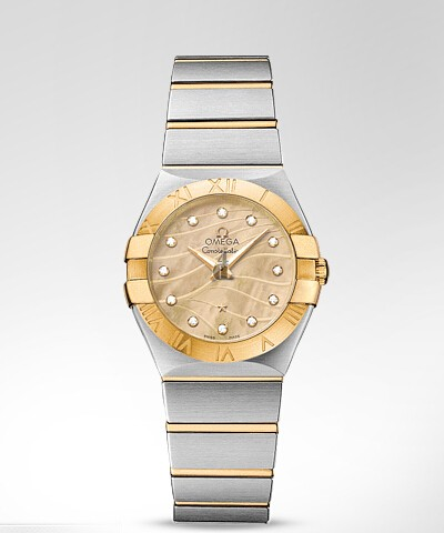 Omega Constellation Brushed 27mm  watch replica 123.20.27.60.57.001