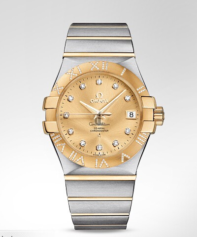 Omega Constellation Automatic  watch replica 123.25.35.20.58.002