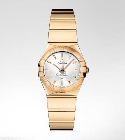 Omega Constellation Polished 24mm  watch replica 123.50.24.60.02.004