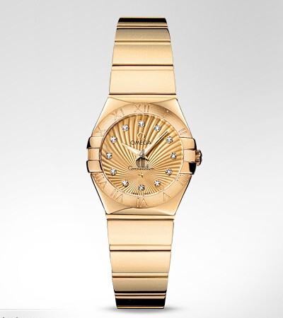 Omega Constellation Polished 24mm  watch replica 123.50.24.60.58.002