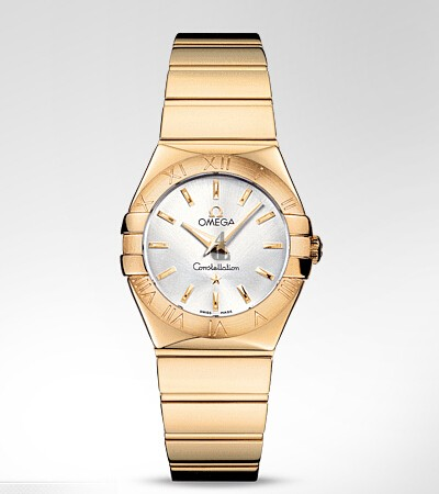 Omega Constellation Polished Quartz  watch replica 123.50.27.60.02.004