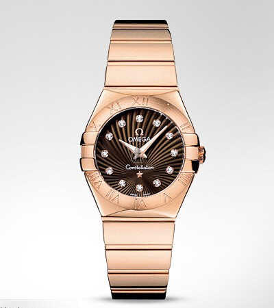 Omega Constellation Polished 27mm  watch replica 123.50.27.60.63.002
