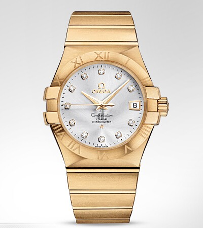 Omega Constellation Co-Axial Automatic  watch replica 123.50.35.20.52.002