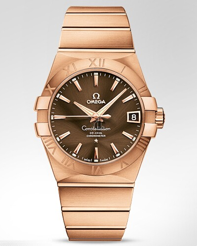 Omega Constellation Co-Axial Automatic 38mm  watch replica 123.50.38.21.13.001