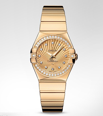 Omega Constellation Polished 27mm  watch replica 123.55.27.60.58.002