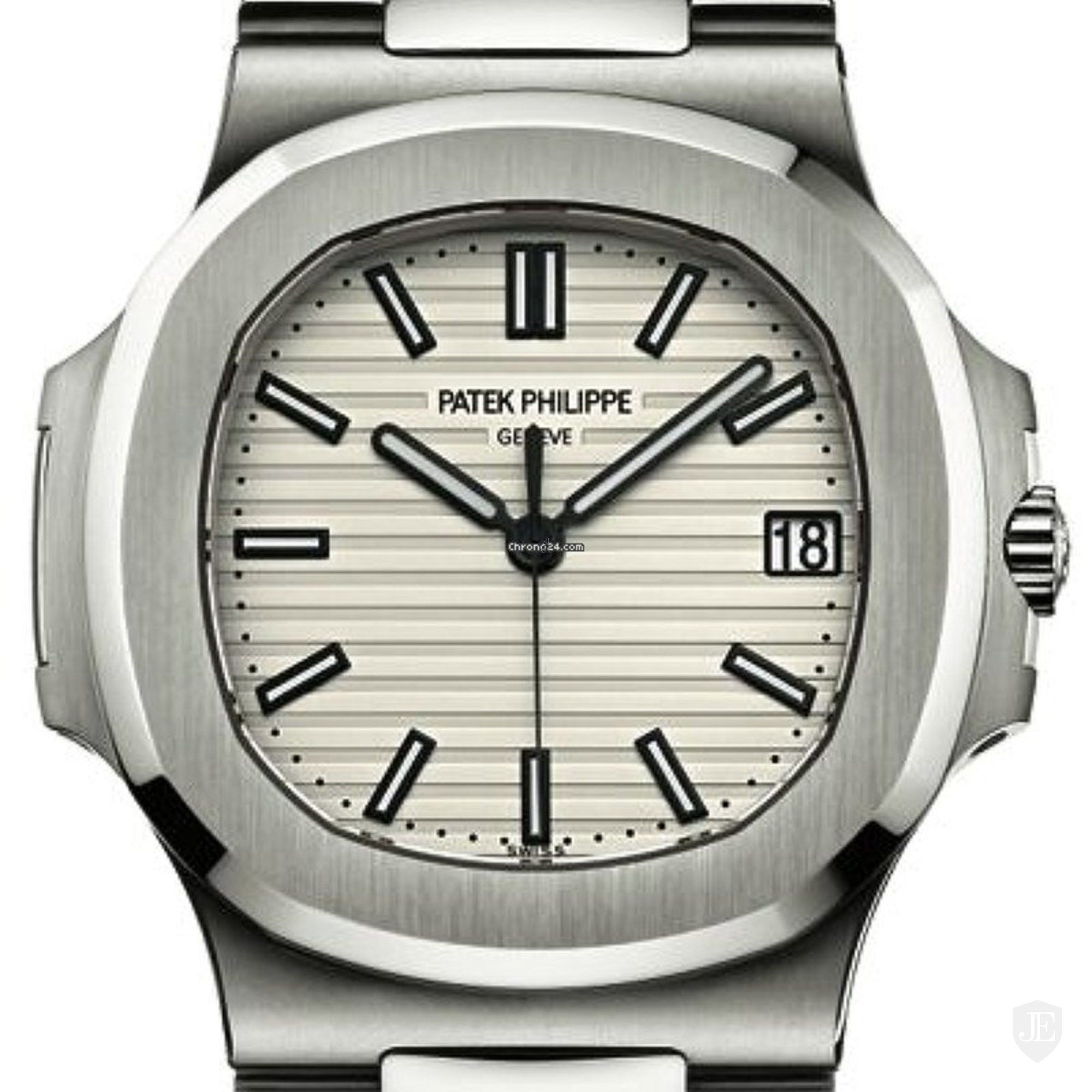 Patek Philippe Nautilus Silvery White Dial Stainless Steel 5711-1A-011 5711/1A-011