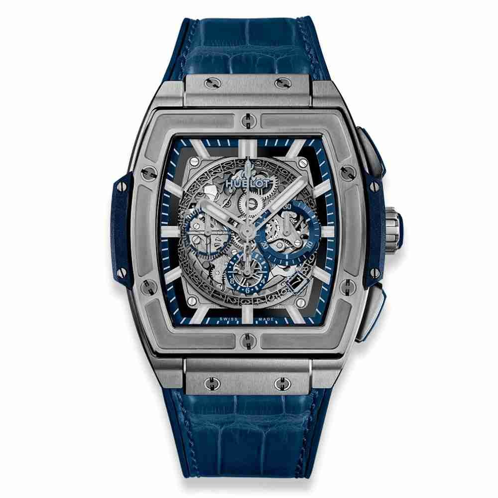 Hublot Spirit of Big Bang Titanium Blue 45mm 601.NX.7170.LR