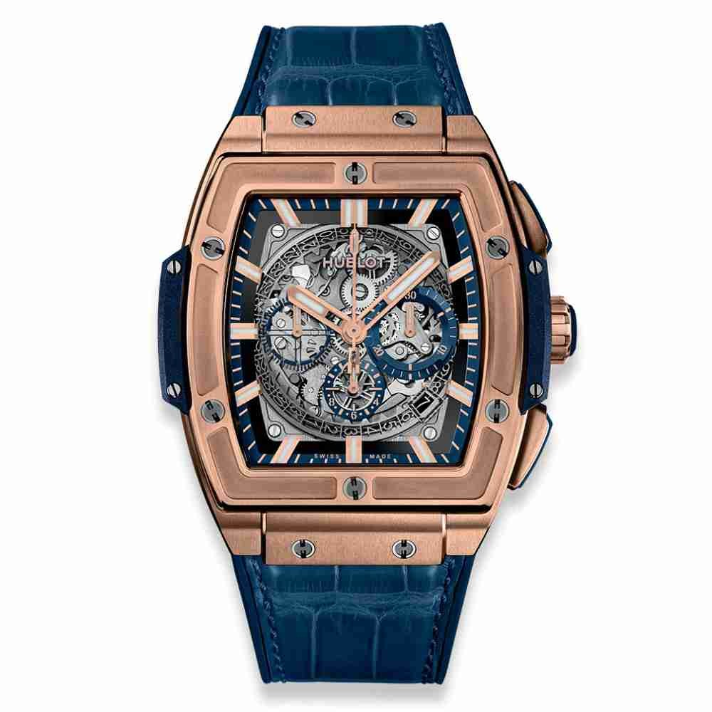 Hublot Spirit of Big Bang King Gold Blue 45mm 601.OX.7180.LR