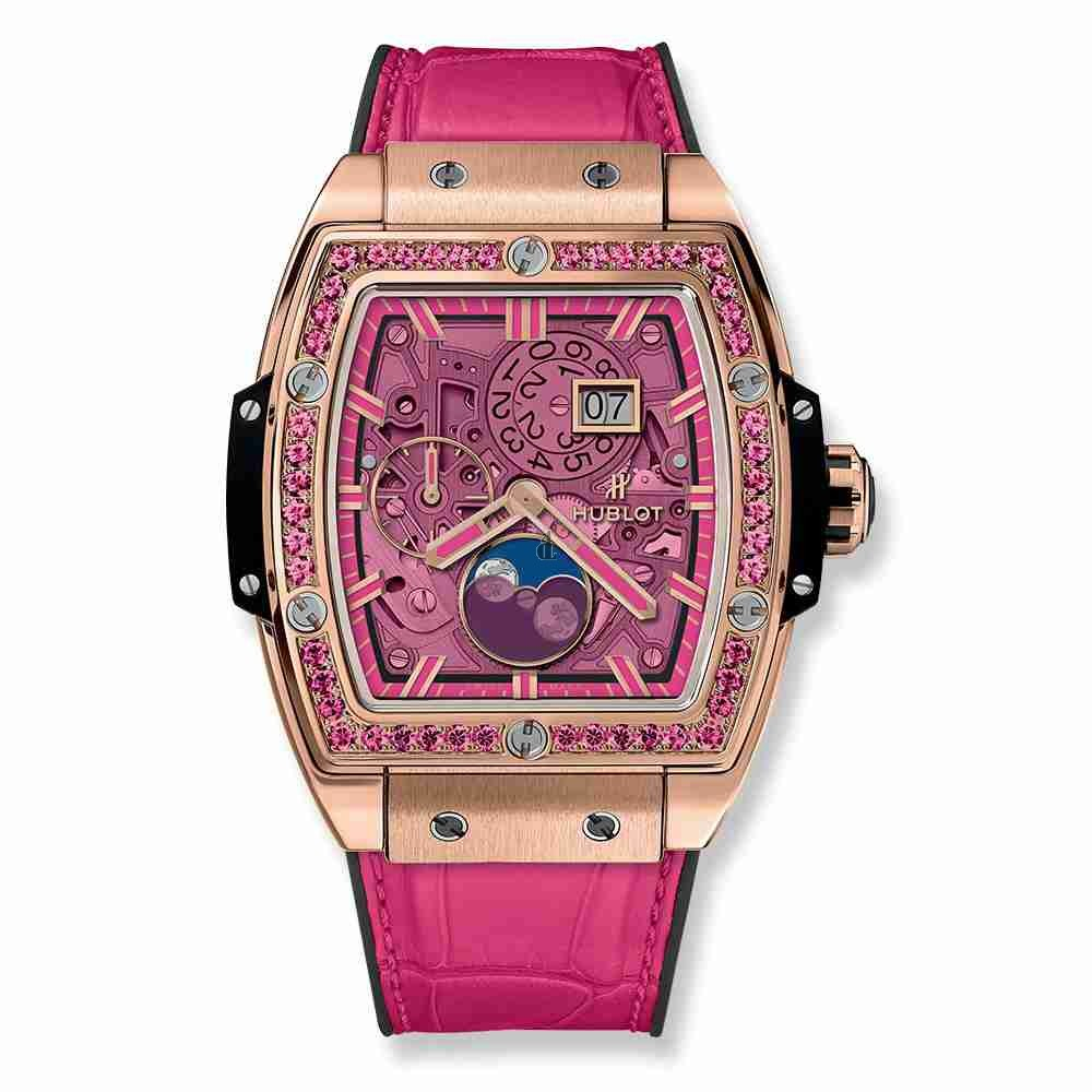 Hublot Spirit Of Big Bang Moonphase King Gold Pink 42mm 647.OX.7381.LR.1233