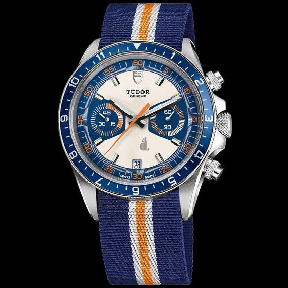 fake Tudor Heritage Chrono BlueAdvisor Steel and Titanium 70330B men Watch