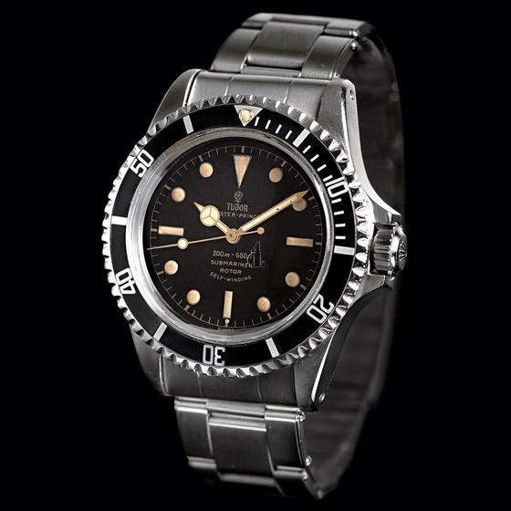 fake Tudor OYSTER PRINCE SUBMARINER SQUARE CROWN GUARDS 7928 black unisex Watch