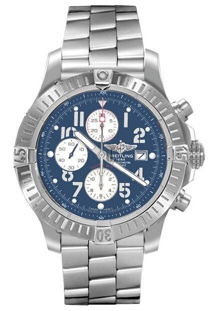Breitling Super Avenger Mens Watch A1337011/C792 135A  replica.