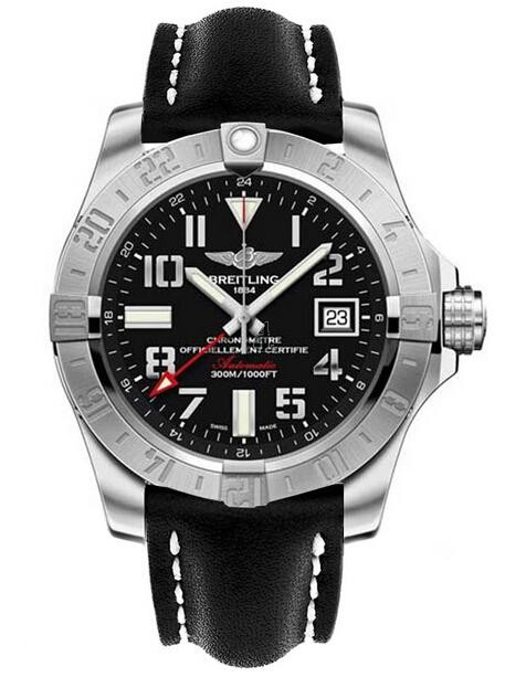 Breitling Avenger II GMT Mens Watch A3239011/BC34 435X  replica.