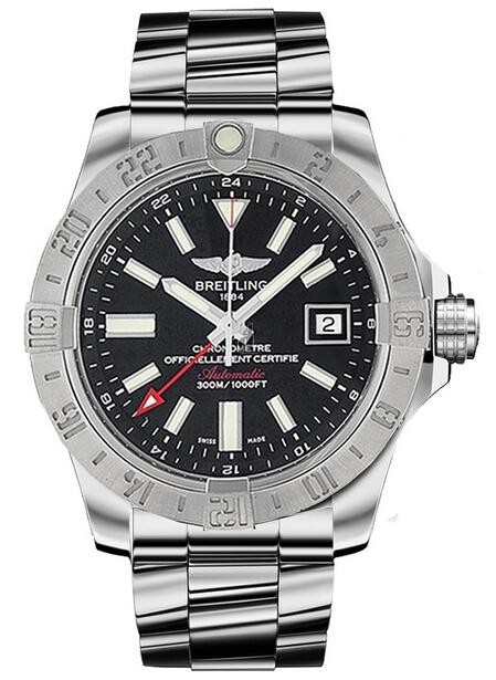 Breitling Avenger II GMT Mens Watch A3239011/BC35 170A  replica.