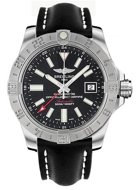 Breitling Avenger II GMT Mens Watch A3239011/BC35 435X  replica.