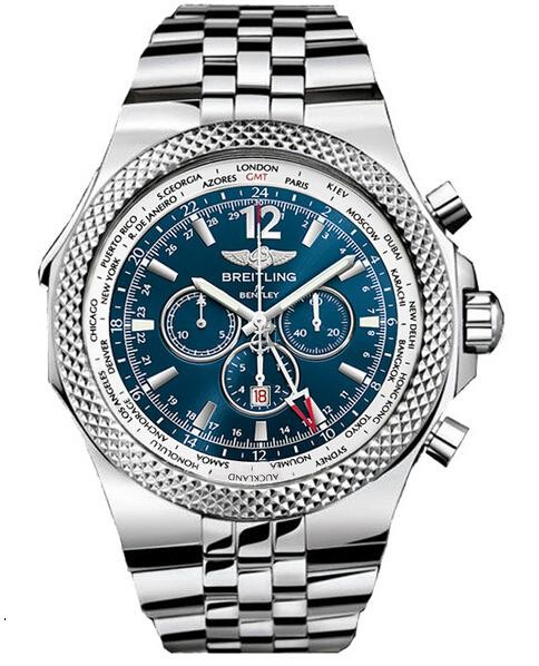 Breitling Bentley GMT Mens Watch A4736212/C768  replica.