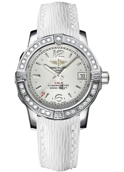 Breitling Colt Lady 33mm Watch A7738853/G793 235X  replica.