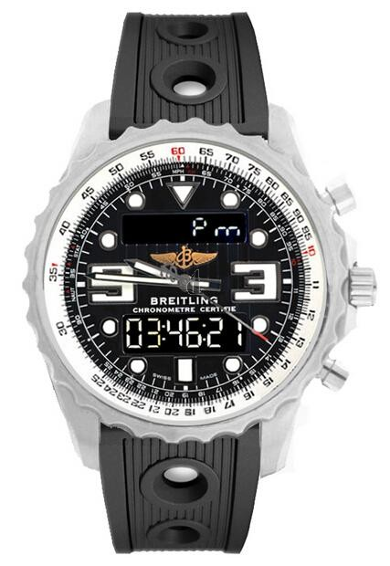 Breitling Chronospace Quartz Watch A7836534/BA26-201S  replica.