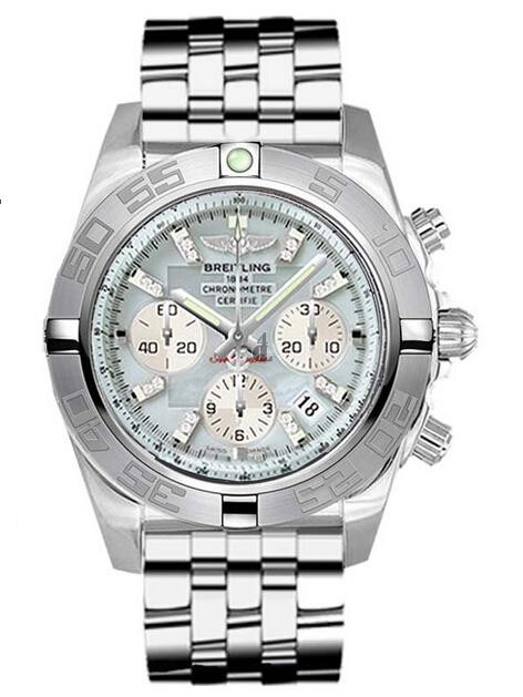 Breitling Chronomat 44 Steel Watch AB011011/G686-375A  replica.