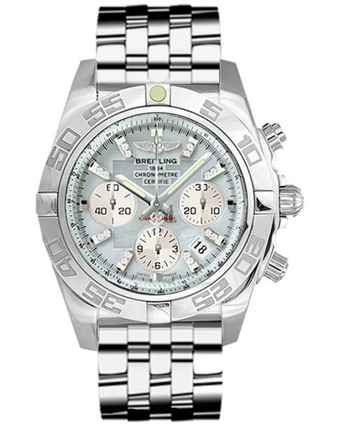 Breitling Chronomat 44 Steel Watch AB011012/G686-375A  replica.