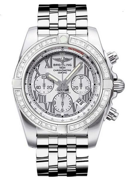 Breitling Chronomat 44 Steel Watch AB011053/G676-375A  replica.