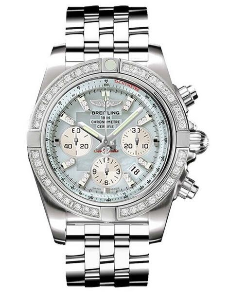 Breitling Chronomat 44 Steel Watch AB011053/G686-375A  replica.