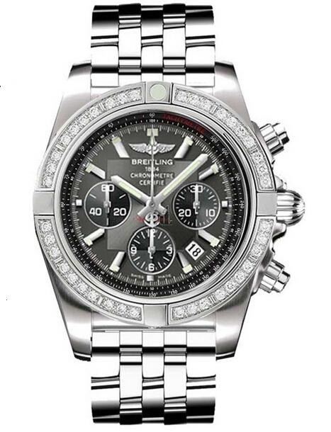 Breitling Chronomat 44 Steel Watch AB011053/M524-375A  replica.