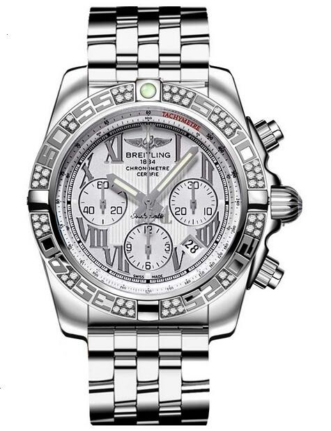 Breitling Chronomat 44 Steel Watch AB0110AA/G676-375A  replica.