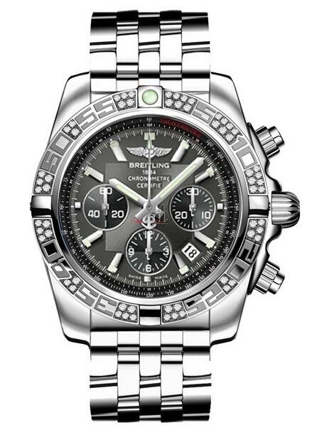 Breitling Chronomat 44 Steel Watch AB0110AA/M524-375A  replica.
