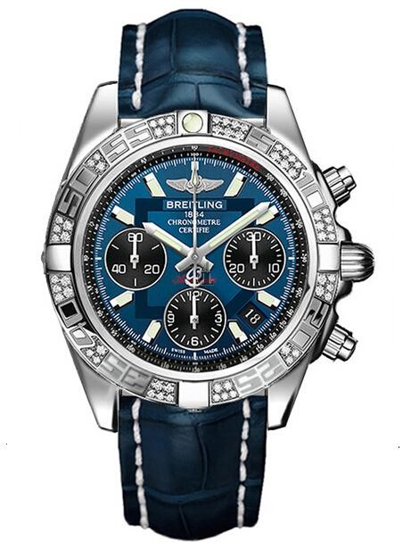 Breitling Chronomat 41 Automatic Chronograph AB0140AA/C830-BLUCD  replica.