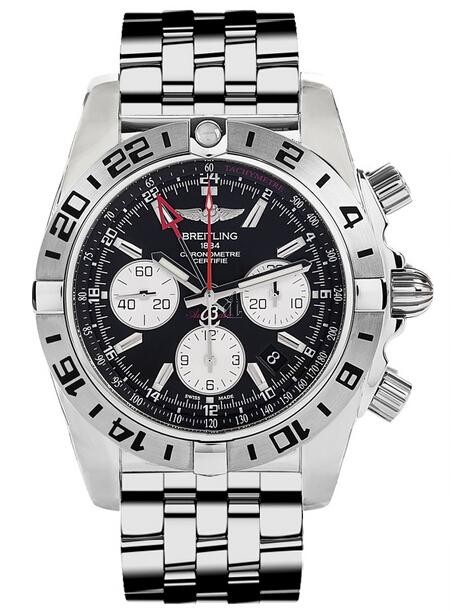 Breitling Chronomat GMT Watch AB0413B9/BD17-383A  replica.