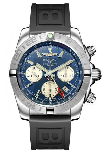 Breitling Chronomat 44 GMT Watch AB042011/C851-153S  replica.