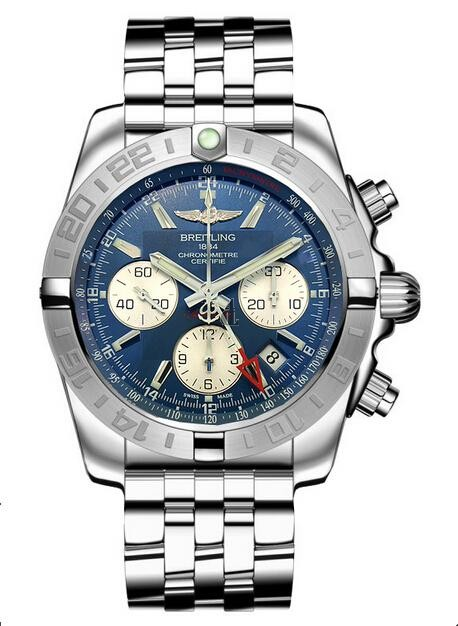 Breitling Chronomat 44 GMT Watch AB042011/C851-375A  replica.