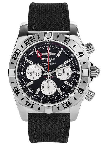 Breitling Chronomat 44 GMT Watch AB0420B9/BB56-103W  replica.
