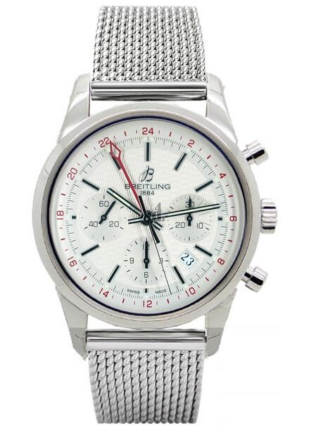 Breitling Transocean Chronograph GMT Watch AB045112/G772 154A  replica.