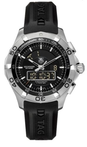 Replica Tag Heuer Aquaracer Chronotimer Mens Watch  CAF1010.FT8011