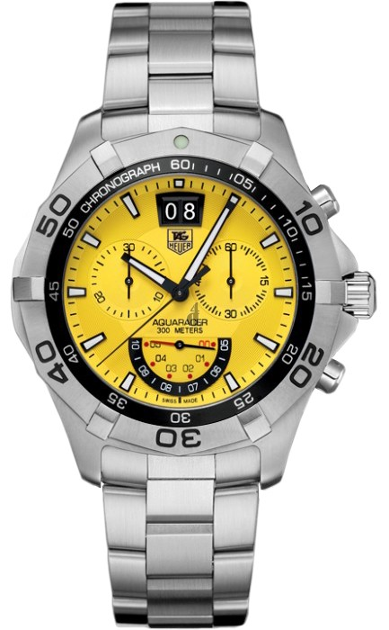 Replica Tag Heuer Aquaracer Chronograph Grand-Date Mens Watch CAF101D.BA0821