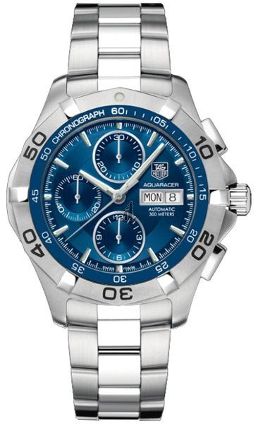 Replica Tag Heuer Aquaracer Automatic Chrono Day Date watch CAF2012.BA0815