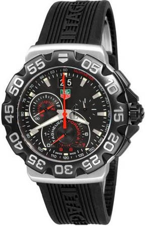 Replica Tag Heuer Formula 1 Grande Date Black Dial Watch CAH1010.FT6026