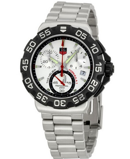 Replica Tag Heuer Formula 1 Chronograph Steel Men's Watch  CAH1111.BA0850