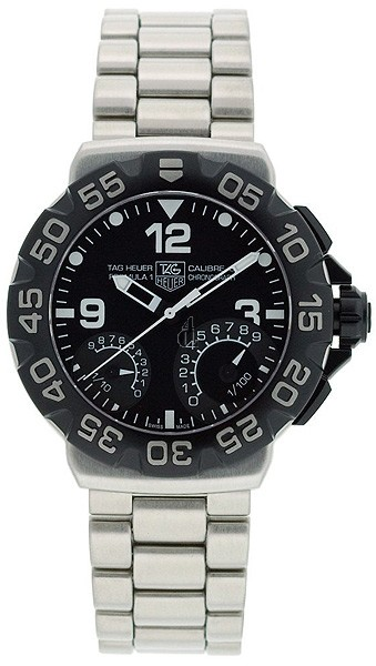 Replica Tag Heuer Formula 1 Calibre S 1/100th Chronograph Stainless Steel Watch CAH7010.BA0854