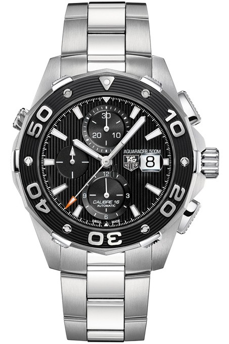 Replica Tag Heuer Aquaracer 500M Calibre 16 Automatic Chronograph 44mm CAJ2110.BA0872