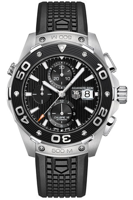 Replica Tag Heuer Aquaracer 500M Calibre 16 Automatic Chronograph 44mm CAJ2110.FT6023