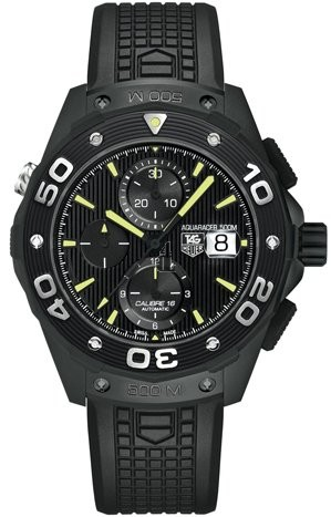 Replica Tag Heuer Aquaracer 500M Calibre 16 Automatic Chronograph 44 mm CAJ2180.FT6023