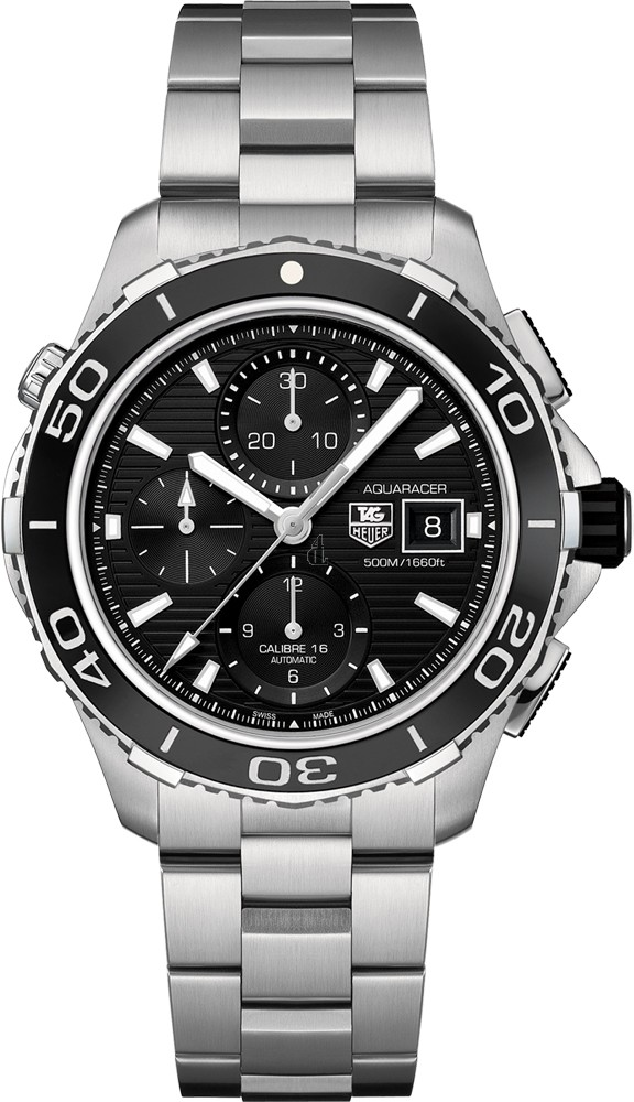 Replica Tag Heuer Aquaracer 500 M Calibre 16Automatic Chronograph43 mm CAK2110.BA0833