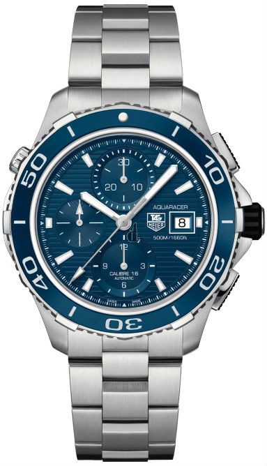 Replica Tag Heuer Aquaracer 500M Calibre 16 Automatic Chronograph 43mm  CAK2112.BA0833